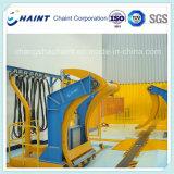 Papierrollenbahn in Papierfabrik