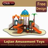 Les enfants une aire de jeux de plein air combiné en plastique pour Park (X1221-1)