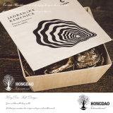 Hongdao caja de madera de encargo de Oyster con las uñas Wholesale_L