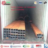 Rostfreies Quadrat-Stahlrohr des nahtlosen Stahl-201