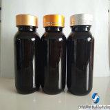 Hot Sale Brown 130ml Plastique Bouteille PET pour les comprimés ou capsules