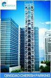 Sistema automático vertical do estacionamento do carro da torre de mais alto nível