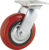 H5 rolamento de esfera dupla Pesado de PP Tipo Rodízio de Roda giratória