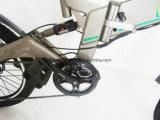 人のための電気マウンテンバイクを折る取り外し電池完全なSuspention