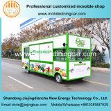 2017 het Nieuwe Fruit van het Ontwerp en de Plantaardige Groene Elektrische Mobiele Vrachtwagen van Vooruitzichten