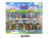 """2 """" 돼지 인형, 승진 선물은, 플라스틱 인형 참신 선물 (9279492)를"""