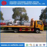 5 тонн плоский лоток / Wrecker дорожного движения при буксировке погрузчика
