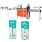 Rouleau de papier tissu Multi toilettes Bundle Package de la ramasseuse-presse la machine