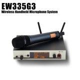 Spitzen5a Qualität Ew 335g3 und Ew-300 drahtloses Handsystem des Mikrofon-G3 für vernehmbaren lebhaftton