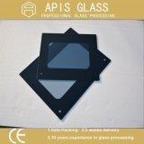 Vidrio impreso pantalla de seda de cristal de la alta impresión resistente de la temperatura con los bordes Polished