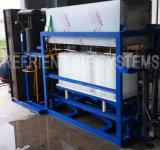 Placa de alumínio de congelação rápida 1.5t bloco do molde da máquina de gelo