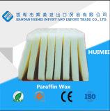 Cire de paraffine entièrement raffiné / fournisseur de cire de paraffine semi-raffiné