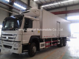Sinotruk HOWO 6X4 371HP Camión Frigorífico Camión Frigorífico Camión Congelador