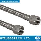 Tubo flessibile di Teflon Braided di SAE 100 R14 PTFE dell'acciaio inossidabile