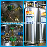 De medische Cryogene Cilinders van het Dewarvat van de Vloeibare Zuurstof