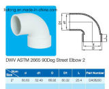 Dwv ASTM 2665 90graus do cotovelo de rua