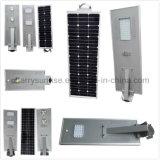 El poste solar de la calzada enciende el blanco puro todo del LED Lampione Solare en un sistema solar de la bombilla para la venta