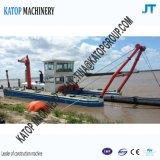 16inch砂浚渫装置の浚渫船機械砂の浚渫船