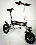 속도 25km/H를 가진 Foldable 전기 자전거를 감형하는 도시