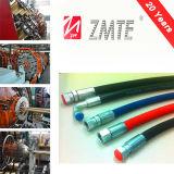 Tuyau en caoutchouc hydraulique SAE 100r2at pour machines industrielles