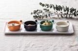 100% de la melamina, Plato con salsa de mango/plato de salsa de Buffet (QQ1620-03)