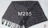 2017の最も売れ行きの良い染められた明白なカラーViscose/ポリエステルスカーフ(M285)