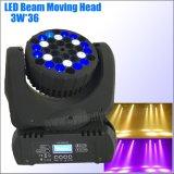Bewegliches Hauptträger-Licht LED 36*3W Stadium DJ-DMX
