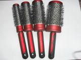 Brosse à cheveux du fourreau en aluminium (9815)