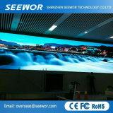 Tabellone per le affissioni dell'interno della visualizzazione di LED dell'affitto di SMD P2.5mm per la fase