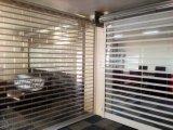 Transparente Polycarbonat-Walzen-Blendenverschluss-Tür