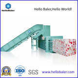 prensa de empacotamento hidráulica horizontal do papel 50HP Waste