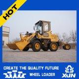 1ton 0.4m3 Capacité du godet Mini Wheel Loader Petit Loader ZL10 à vendre
