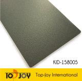 Fast vender piso vinílico de color gris rollo (KID-158005)