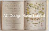 مهمّة علم نبات [بو] [لثر/مدف] خشبيّة كتاب شكل جدار فن