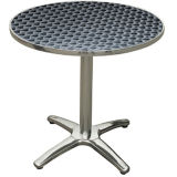 Table en plein air de café / restaurant en aluminium (DT-06164R)