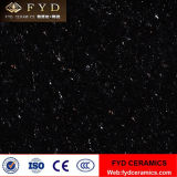 Carregamento Duplo Crystal Mosaico de porcelana Polido Preto (FJ6007)