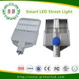 Luz de calle elegante del LED 50W a 100W con el PLC de la fotocélula y el sistema sin hilos del regulador
