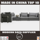 Sofà domestico del tessuto della mobilia dell'Italia con 3 Seater