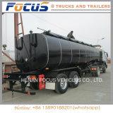 3つの車軸6コンパートメント特別な比重の大きい燃料石油タンクトラック