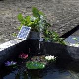 Bomba Solar-Powered Fonte de Energia Solar c.c. sem escovas exterior plantas de jardim da bomba de água de abeberamento Lagoa Solar Kit Kit Bomba 9V 2W