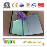 1.8mm, 2mm, 3mm, 4mm, 5mm, 6mm, 8mm Miroir en aluminium utilisé pour miroir de bain / miroir décoratif