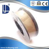 Flux-Cored MIG/Fio de soldagem TIG Er70s-6 com revestimento de cobre
