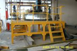 Escalas y barandilla, pisada de escalera de Fiberlgass, sistema de la fibra de vidrio de la barandilla de FRP