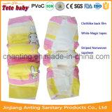 Constructeur somnolent remplaçable de couche-culotte de bébé dans le prix usine bon marché de la Chine