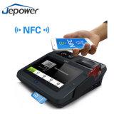 組み込みプリンター、Nfc/RFIDの読取装置、WiFi、3Gが付いている人間の特徴をもつPOSの宝くじ機械