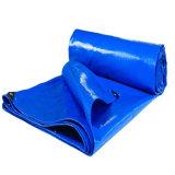 China de plástico de color verde o azul PE cubiertas de lona