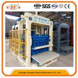 Construction construisant la brique automatique faisant la machine pour évaluer le bloc de la colle Qt10-15 faisant la machine