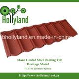 Mattonelle di tetto rivestite di pietra del metallo (tipo classico)