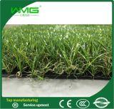 Erba artificiale del tappeto erboso di paesaggio artificiale della stuoia per modific il terrenoare