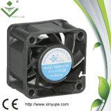 Ventilateur imperméable à l'eau solaire sans frottoir 40mm élevé 12V 24V de C.C de ventilation de Shenzhen 4028 Cfm